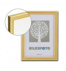 Guld billedramme med refleksfrit glas