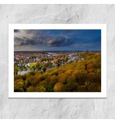 Bo Nørgaard - Silkeborg Luftfoto2 30x40