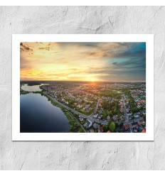 Bo Nørgaard - Silkeborg Luftfoto4 30x40