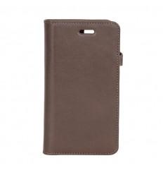 iPhone 6-7-8-SE cover læder Brun
