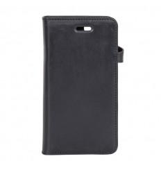 iPhone 6-7-8-SE cover læder Sort