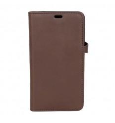 iPhone X cover læder Brun