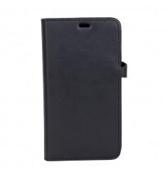 iPhone X cover læder Sort