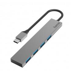 HAMA Adapter USB-C 4x USB-porte