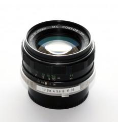 Minolta MC 55mm f:1.7